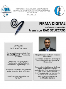 Firma Digital- Flyer